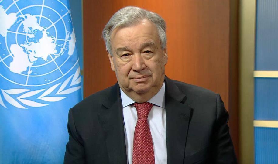 Message d'António Guterres