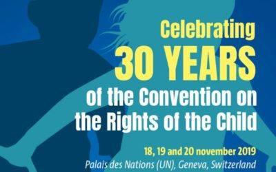 30 ans de la Convention des Droits de l'enfant, Palais des Nations (ONU)